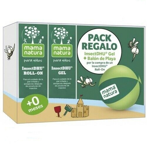 Insectdhu pack gel+roll-on + pelota