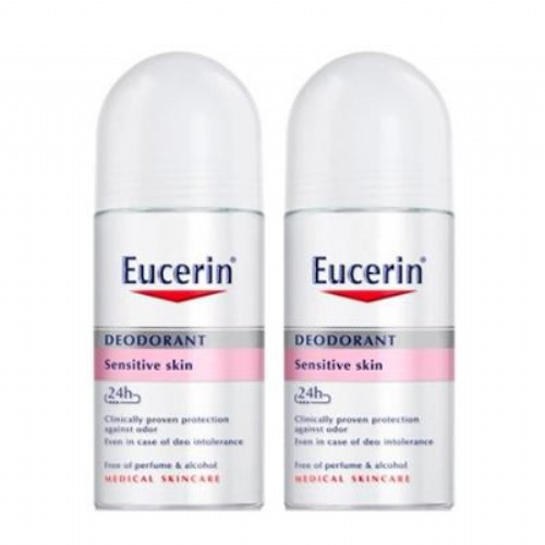 DUPLO DEO ROLL ON P/SENSIBLE EUCERIN