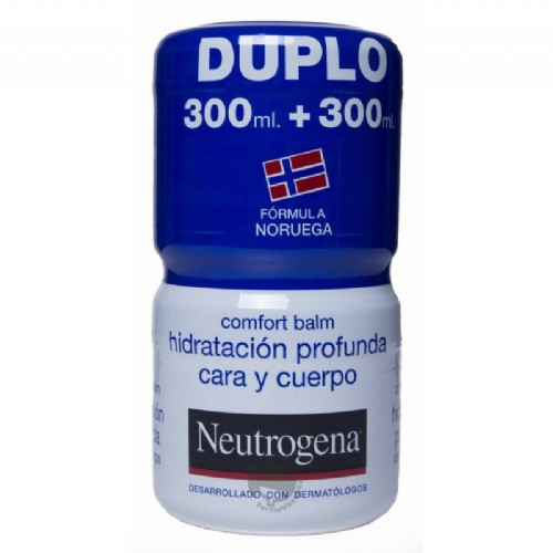 NEUTROGENA COMFORT BALM HIDRATACION PROFUNDA - CARA Y CUERPO (300 ML + 300 ML)