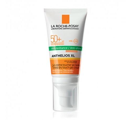 Anthelios xl spf 50+ gel crema toque seco (1 envase 50 ml color)