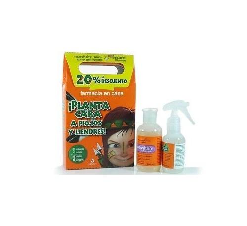 Neositrin 100 % spray + champu - antipiojos (kit)