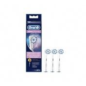 Cepillo dental electrico recambio - oral b sensitive (3 cabezales)