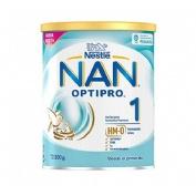 Nan optipro 1 leche lactantes (1 envase 800 g)