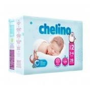 Chelino fashion & love pañal infantil (t- 2 (3 - 6 kg) 28 pañales)