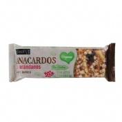 Siken form barrita anacardos & arandanos avena (1 u)