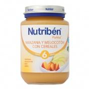 NUTRIBEN MANZANA MELOCOTON CON CEREALES (POTITO JUNIOR 200 G)