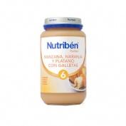 NUTRIBEN MANZANA NARANJA PLATANO Y GALLETA (POTITO GRANDOTE 250 G)