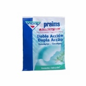 CARAMELOS PRAIMS DOBLE ACCION SIN AZUCAR (60 G)