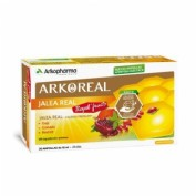 Arkoreal jalea real royal fruits (20 ampollas)