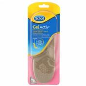 Plantillas - scholl gel activ  botas y botines (1 par)