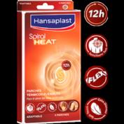 Hansaplast spiral heat (4 parches adaptables)