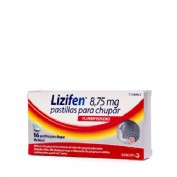 LIZIFEN 8,75 MG PASTILLAS PARA CHUPAR 16 pastillas