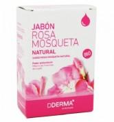 Dderma jabon de rosa mosqueta natural (100 g)