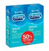 Durex duplo suave 50% 2u