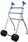Caminador c/ruedas aluminio
