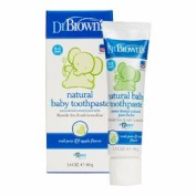 Pasta dental infantil natural - bebe dr brown (40 g)