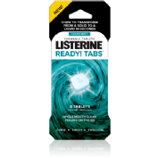 Listerine go blister 8  comp