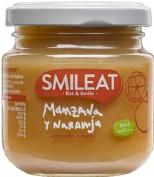 Smileat potito eco manz y naranja 130 g