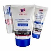 Neutrogena crema de manos concentrada + stick labial spf 20 (1 envase 50 ml + 1 envase 4,8 g pack)