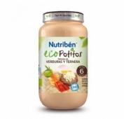 Nutriben eco delicias de verdura con ternera (1 potito grandote 250 g)