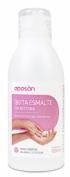 Aposan quitaesmalte sin acetona (1 envase 125 ml)