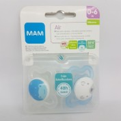 CHUPETE MINI LATEX - MAM ORIGINAL (0- 6 M PACK DOBLE)