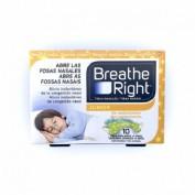 BREATHE RIGHT TIRAS NASAL JUNIOR 10 U