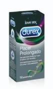 DUREX PLACER PROLONGADO - PRESERVATIVOS (12 U)