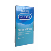 DUREX NATURAL PLUS EASY ON 6 U