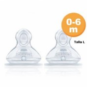 TETINA SILICONA ANTICOLICO - NUK FIRST CHOICE+ (T-1 L 2 TETINAS)