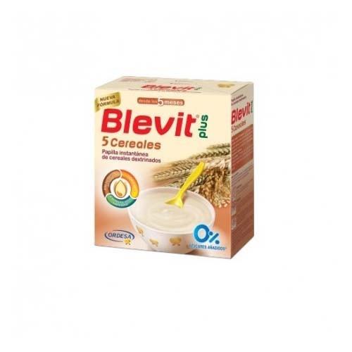 Blevit plus 5 cereales (1 envase 600 g)