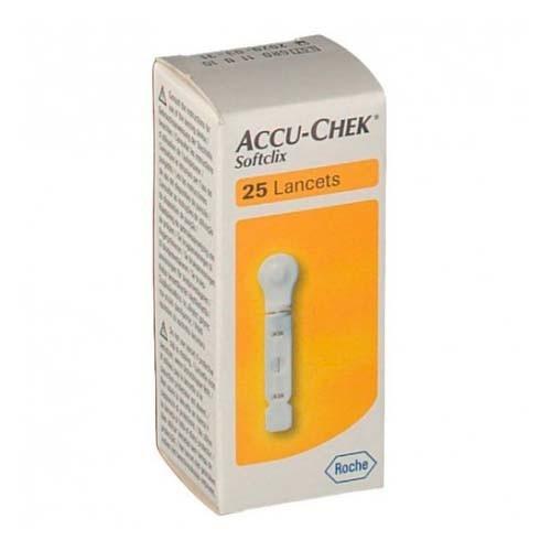 ACCU-CHEK SOFTCLIX LANCETAS (25 LANCETAS)