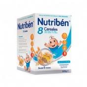 Nutriben 8 cereales (1 envase 600 g)