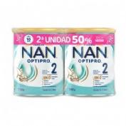 Nan optipro 2 (duplo 2 x 800 g)