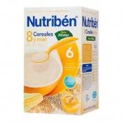 PAPILLA NUTRIBEN 8 CEREALES Y MIEL DIGEST (600 G)