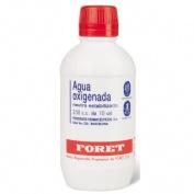 AGUA OXIGENADA FORET 3 %  solución cutánea y concentrado para solución bucal  , 1 frasco de 250 ml