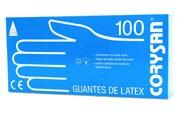 GUANTES LATEX - CORYSAN (T- GDE 100 U)