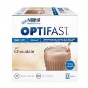 Optifast batido (12 sobres 53 g sabor cacao)